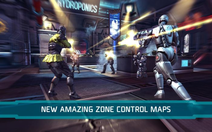 game perang android multiplayer SHADOWGUN DeadZone