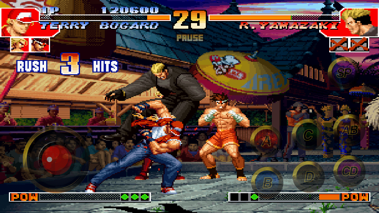 game perang android multiplayer The King of Fighters'97