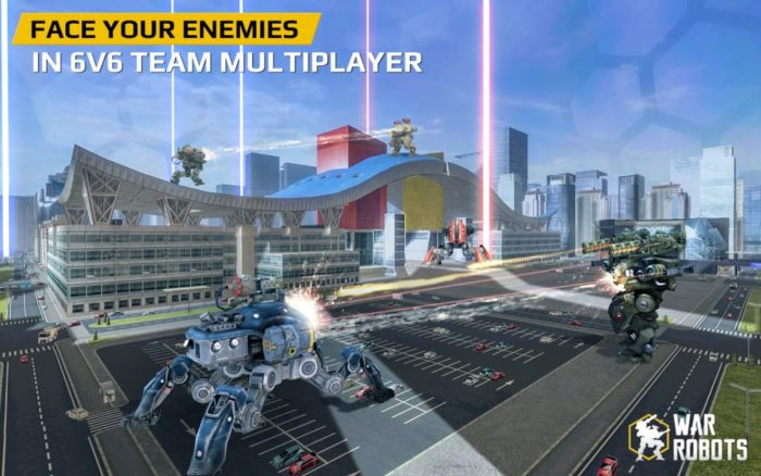 game perang android multiplayer War Robots