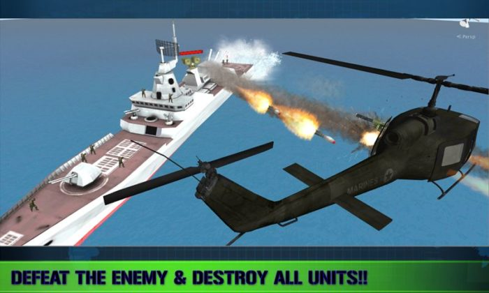 game perang kapal laut android Navy Gunship Shooting 3D Game