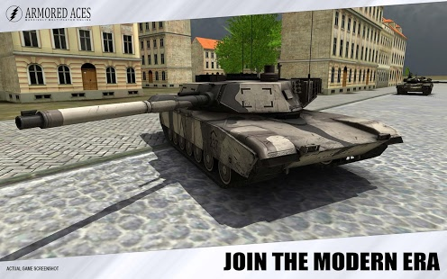 game perang tank android Armored Aces - 3D Tanks Online