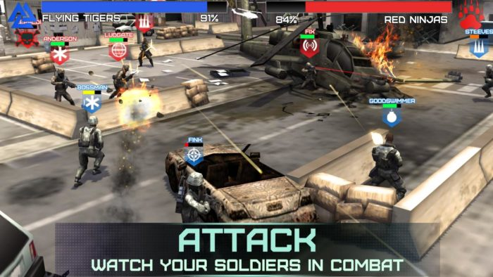 game perang terbaik android Rivals at War