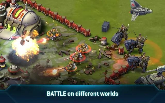 game perang terbaik android Star Wars