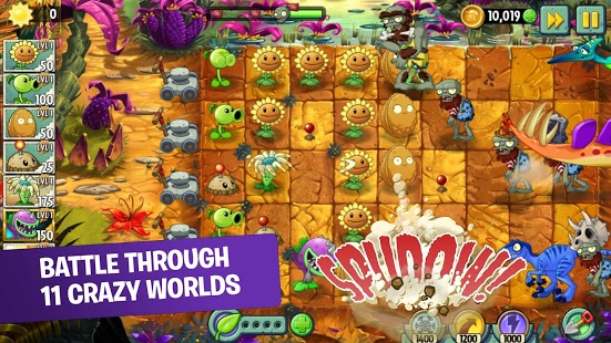 game perang zombie android Plants vs. Zombies™ 2