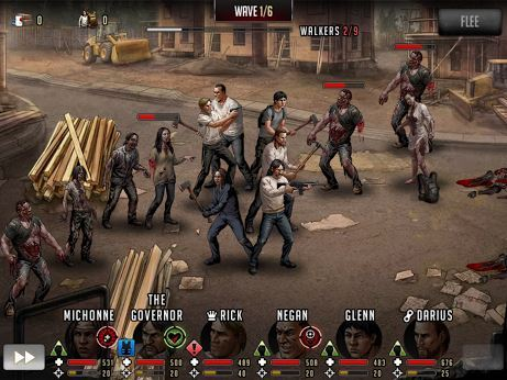 game perang zombie android Walking Dead Road to Survival