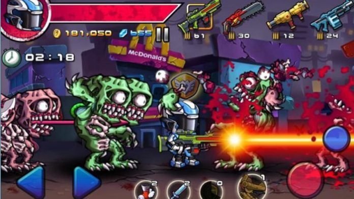 game perang zombie android Zombie Diary