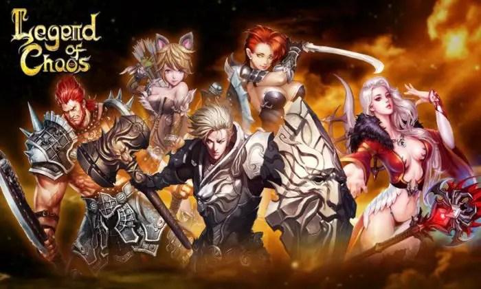 game rpg terbaru Legend of Chaos