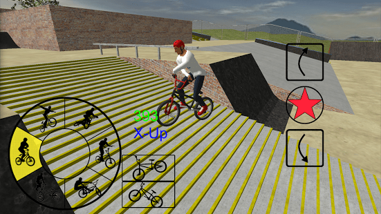 Game sepeda android BMX Freestyle Extreme 3D