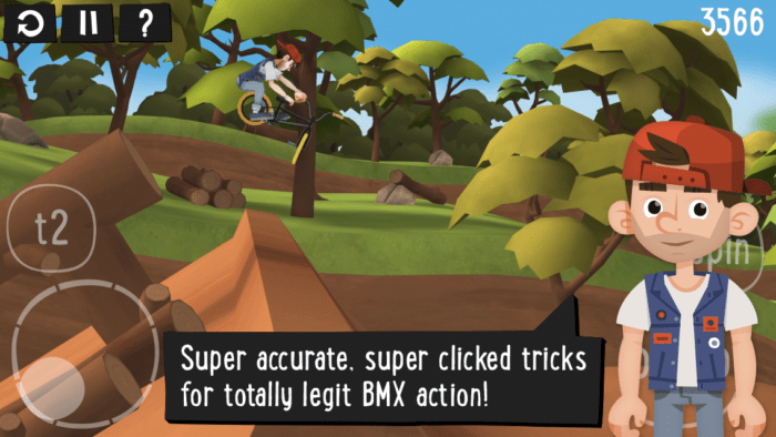 Game sepeda android Pumped BMX 2