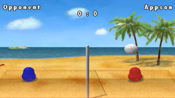 Game Bola Voli Android Terbaik Gratis Blobby Volleyball