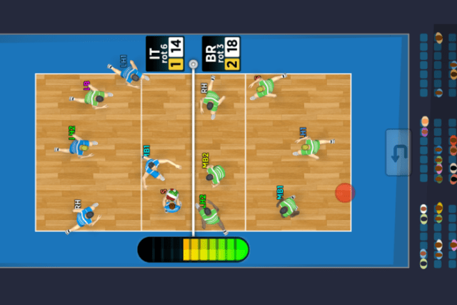 Game Bola Voli Android Terbaik Gratis Spike Masters Volleyball