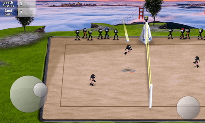 Game Bola Voli Android Terbaik Gratis Stickman Volleyball