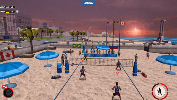 Game Bola Voli Android Terbaik Gratis VTree Entertainment Volleyball