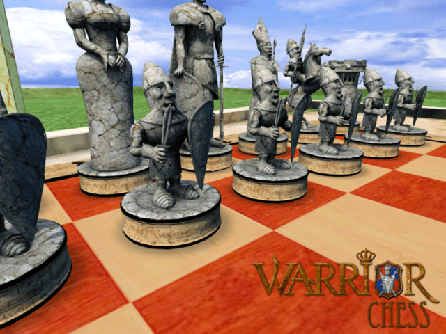 game catur Warrior Chess