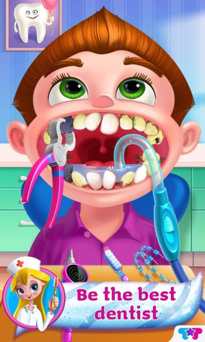 game dokter gigi Dentist Mania Doctor X Clinic