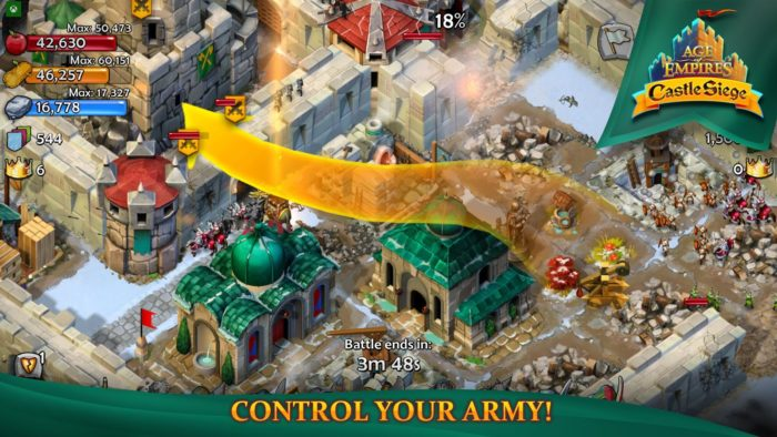 game mirip COC Age of Empire Castle Clash