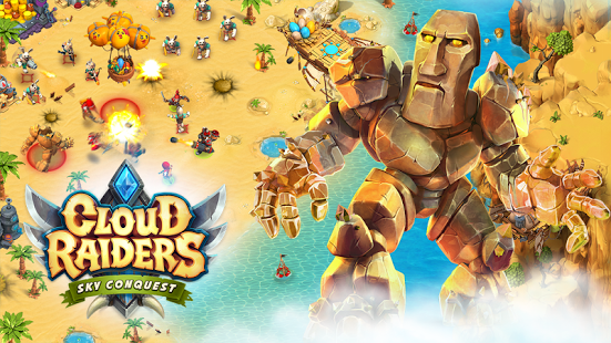 game mirip COC Cloud Raiders