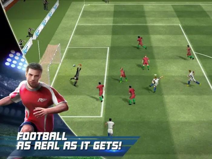 game sepak bola gameloft
