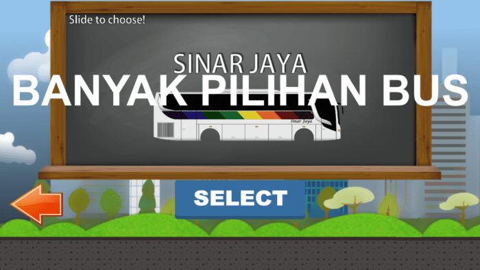 game bus sinar jaya simulator