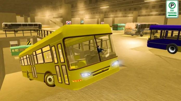 games parkir bus keren