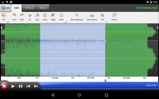 WavePad Free Audio Editor