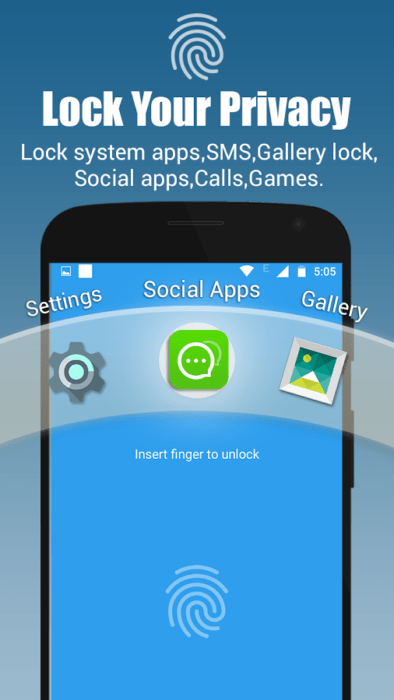 App Lock Real Fingerprint