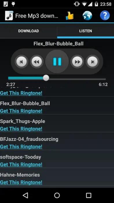 aplikasi android download lagu legal