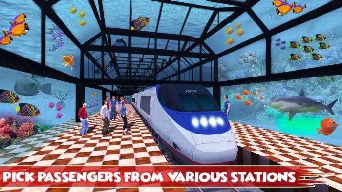 Underwater Train Simulator 3D