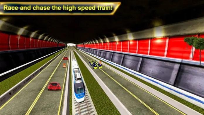 Train vs Car Super Racing