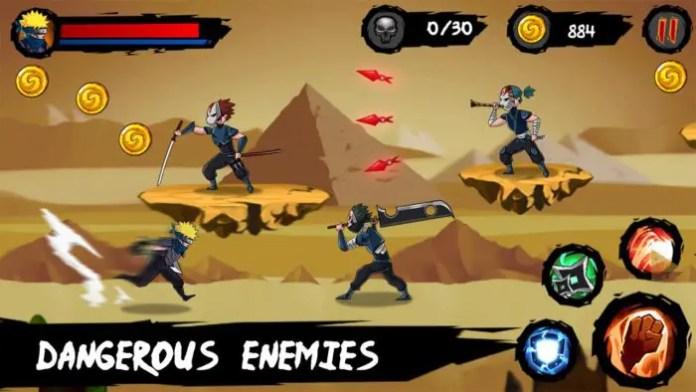 Ninja Runner Adventure Petualangan Kakashi Mengumpulkan Koin