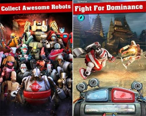 Iron Kill Robot Fighting Games