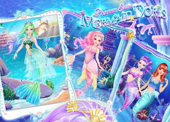 Princess Salon Mermaid Doris