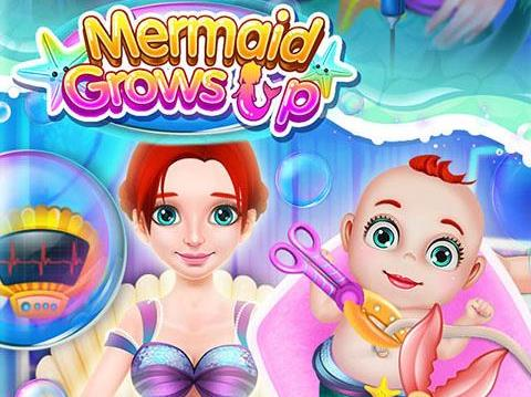 game Mermaid Grows Up