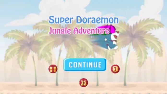 Super Doraemon Jungle Adventure