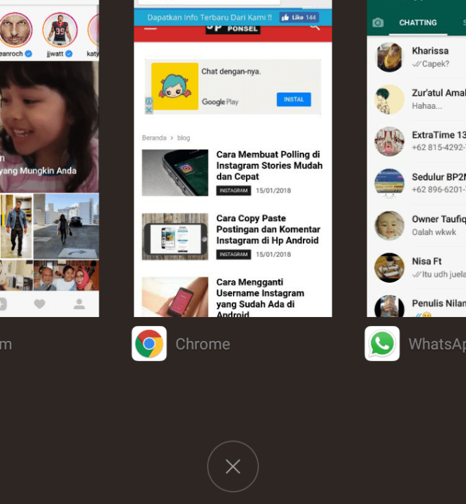 """Cara Mengatasi """"process.com.instagram.android has stopped working.."""" di Android"""