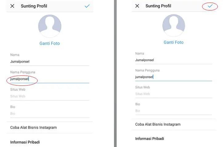 Cara Mengganti Username Instagram Kamu Lewat HP Android 2