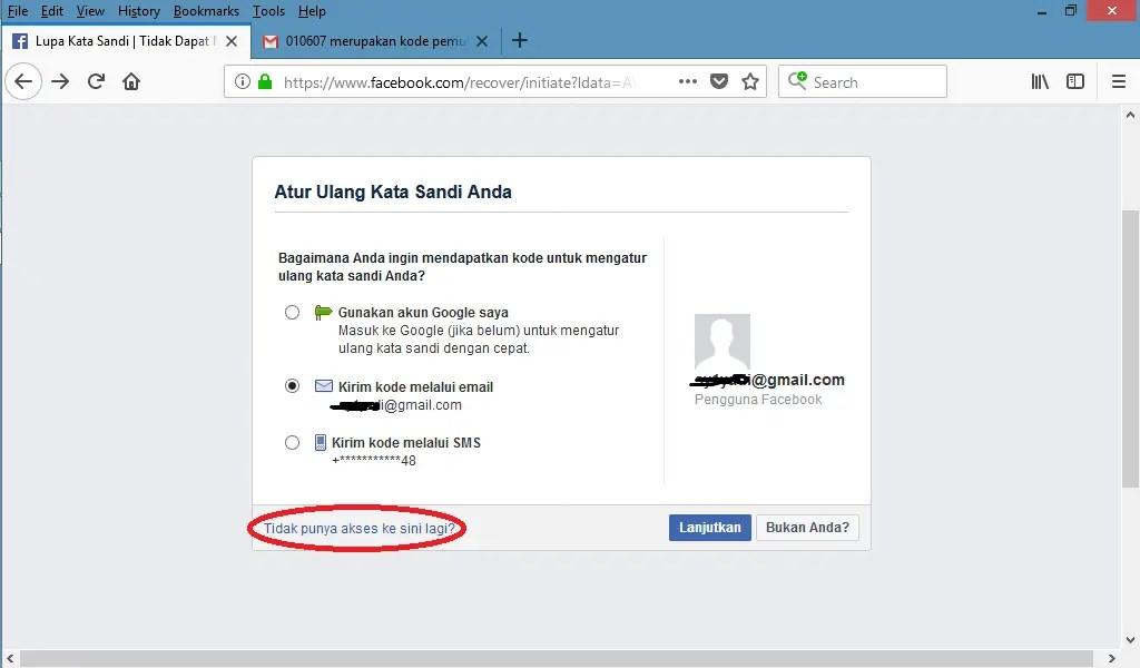 Mengatasi Lupa Kata Sandi Facebook Melalui Kontak Terpercaya(tanpa email dan no hp)