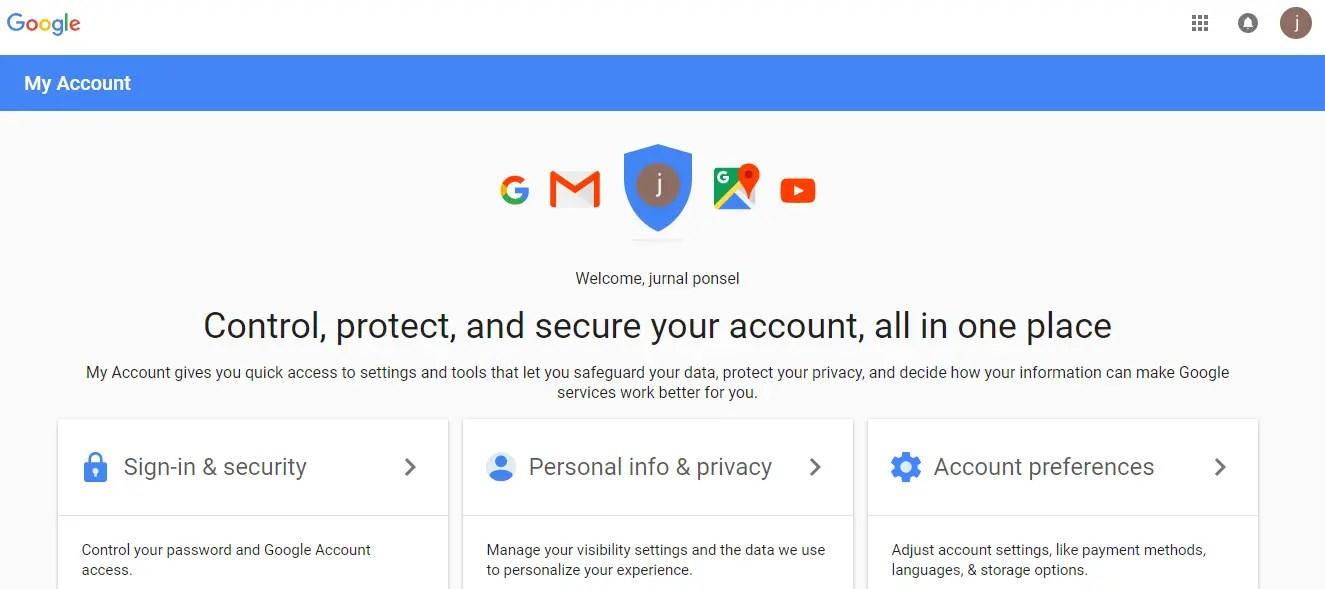 daftar gmail berhasil