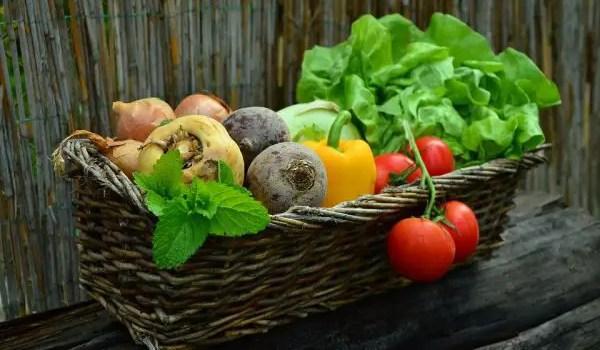 Nama sayuran dalam bahasa inggris