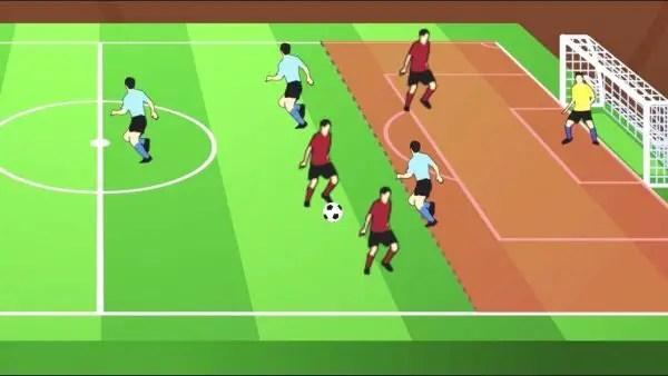 Pengertian Offside Dalam Sepakbola Penyebabnya Lengkap
