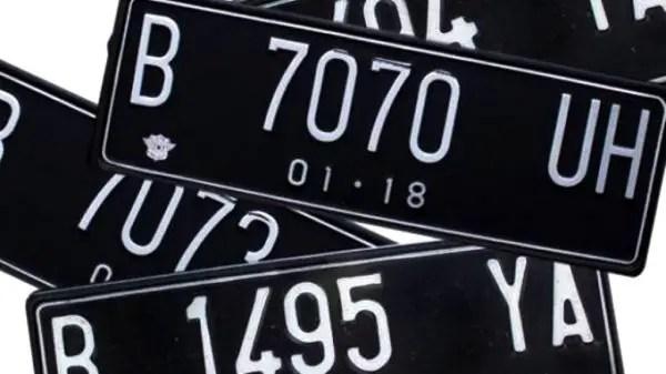 Daftar Kode Plat Nomor Kendaraan Bermotor