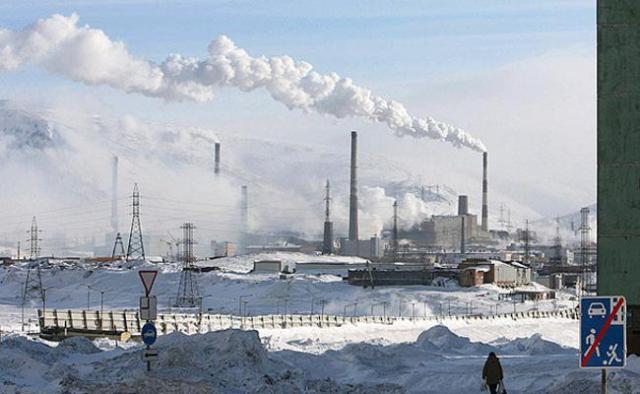 Norilsk Rusia