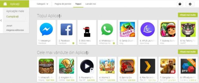 top aplicatii android 2014