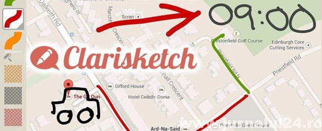Clarisketch app