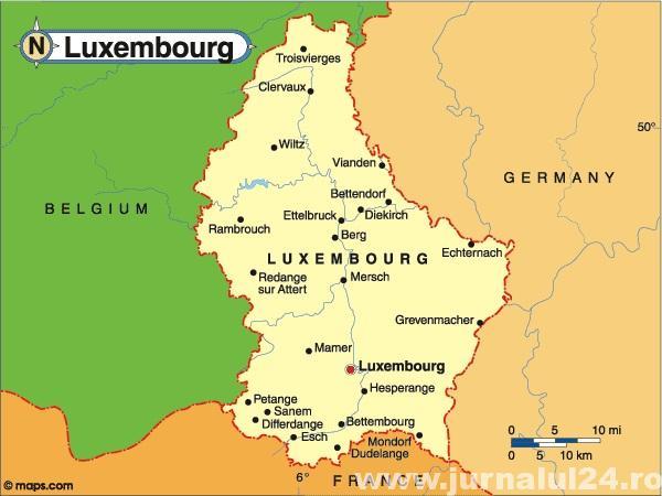 harta luxemburg