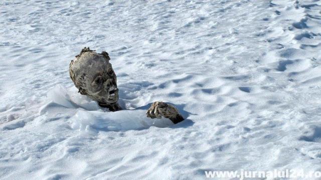 mumificat in gheata
