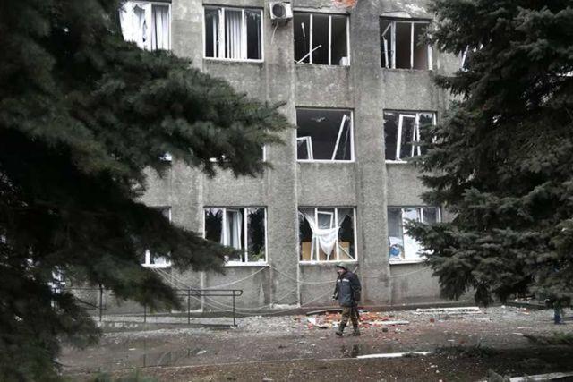 cladirea lovita in ucraina