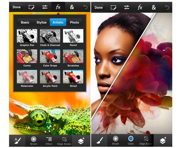 Adobe-Photoshop pentru android