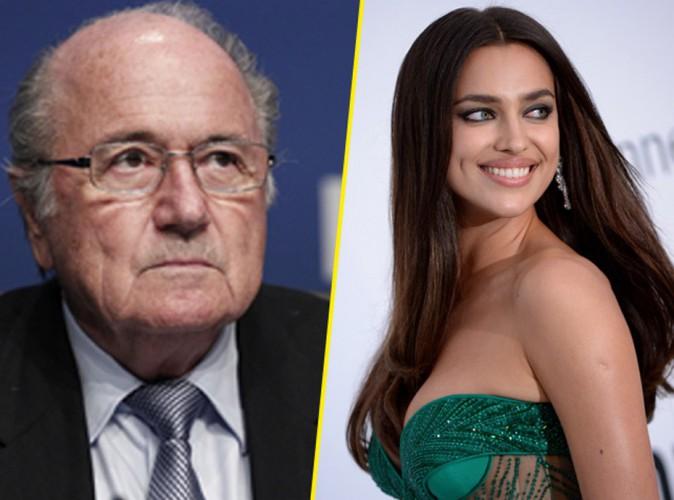 Irina Shayk neagă categoric faptul că a fost amanta lui Sepp Blatter