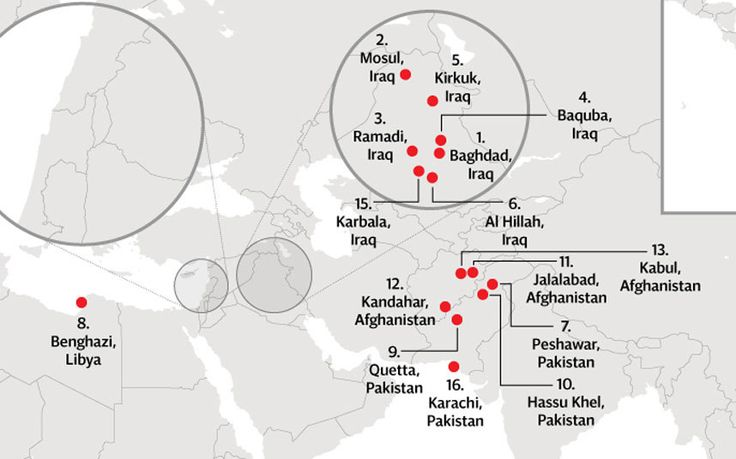 risc de terorism